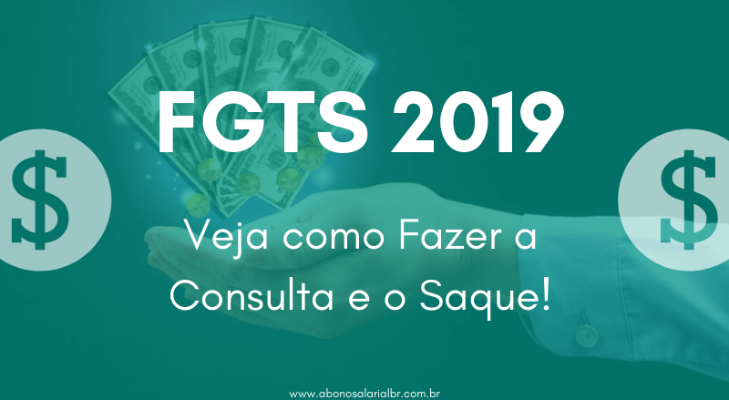 FGTS 2019 - Contas Ativas e Inativas